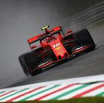 Leclerc Tercepat di FP1 GP Italia