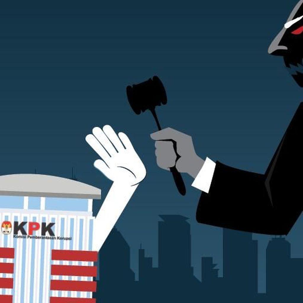 Kejanggalan-kejanggalan dalam Pembahasan Revisi UU KPK