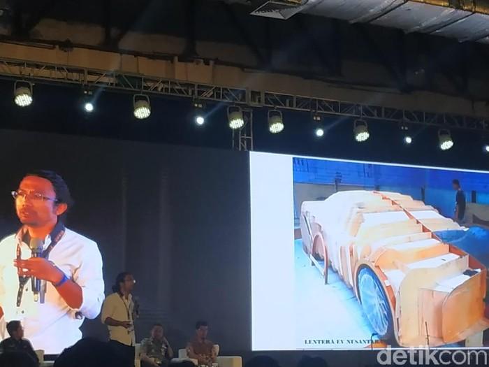 Baterai mobil listrik buatan Dasep Ahmadi