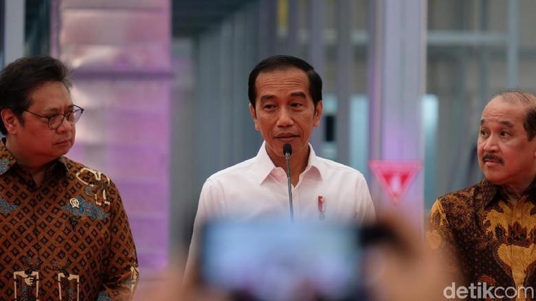Jokowi Respons Pimpinan KPK: Tidak Ada Namanya Kembalikan Mandat