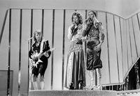 ABBA, salah satu band terpopuler di era 1970-an.