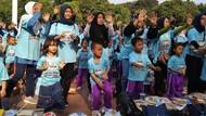 Serunya 2.168 Anak Buat Kreasi Roti untuk Sarapan Bergizi