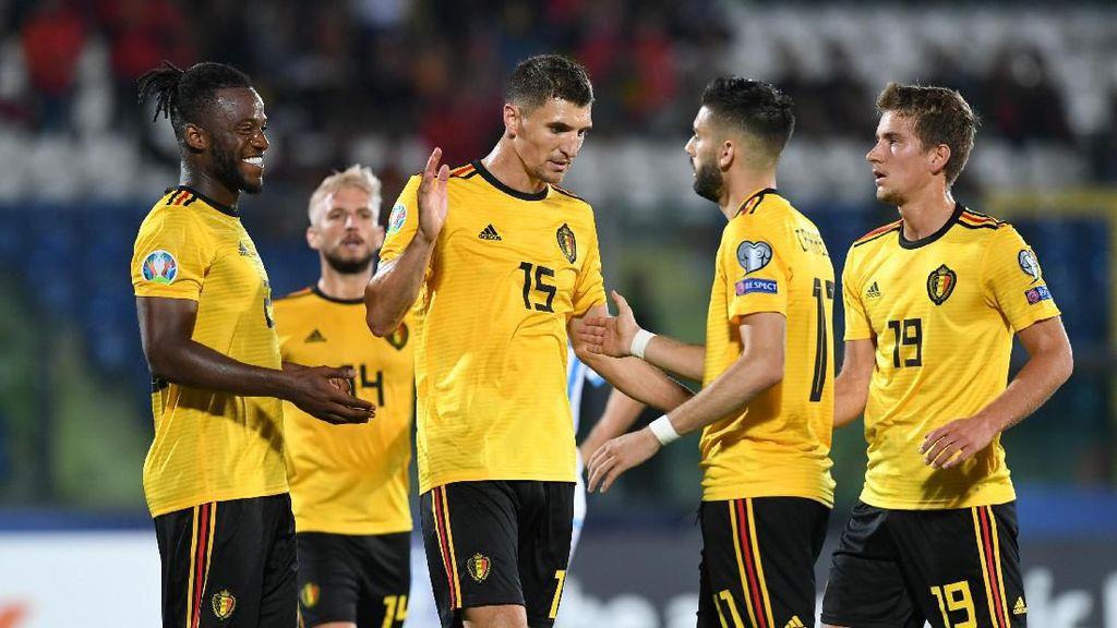 Kualifikasi Piala Eropa 2020: Belgia Hantam San Marino 4-0