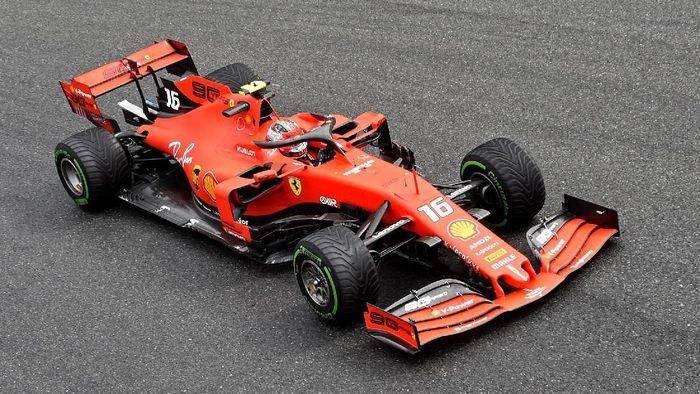 Charles Leclerc kuasai sesi latihan bebas kedua GP Italia 2019 (Massimo Pinca/Reuters)