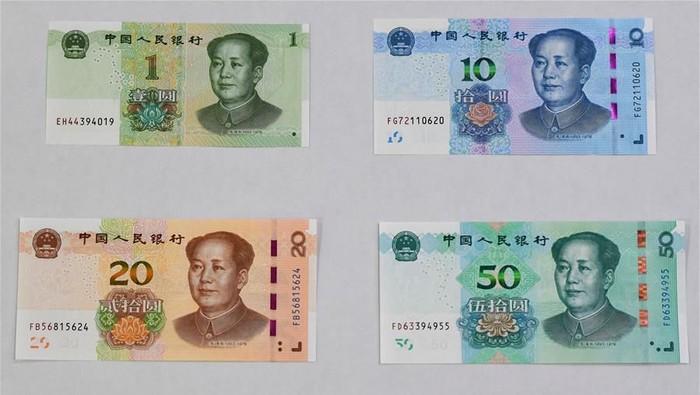 Edisi baru seri kelima mata uang China renminbi, atau yuan, secara resmi diluncurkan. Seperti apa penampakannya?