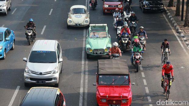 Konvoi kendaraan listrik