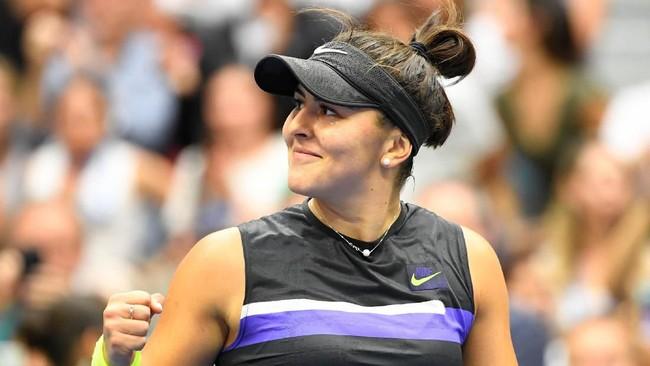 Bianca Andreescu menjuarai AS Terbuka 2019. (Foto: Robert Deutsch-USA TODAY Sports)
