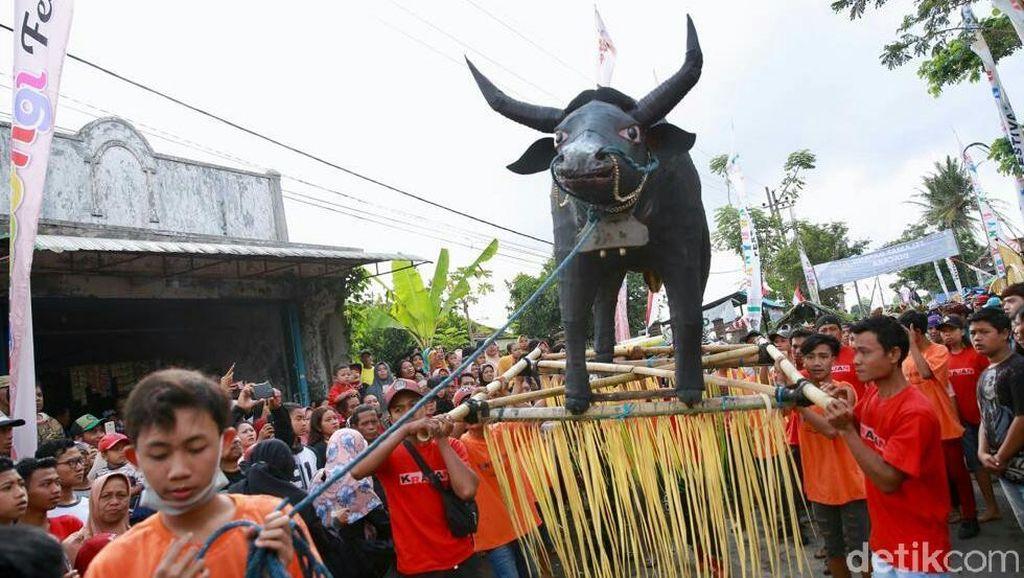 Video Keseruan Tradisi Keboan Aliyan di Banyuwangi
