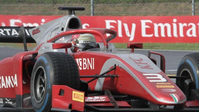 Sean Gelael finis kesembilan di F2 Monza (dok.Sean Gelael)