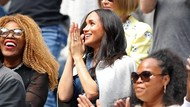 Nonton Serena Williams Tanding, Meghan Markle Disebut Bawa Sial