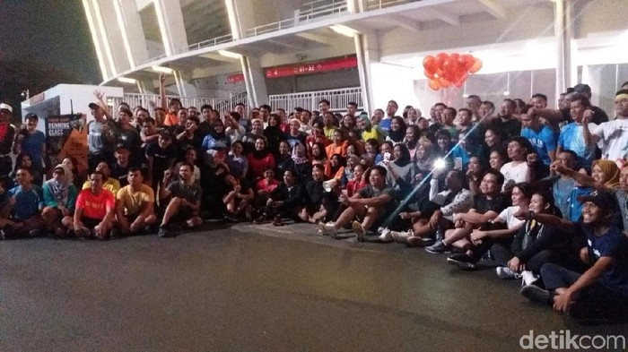 Komunitas lari 361 Runners (Foto: Nabila Ulfa Jayanti/detikHealth)