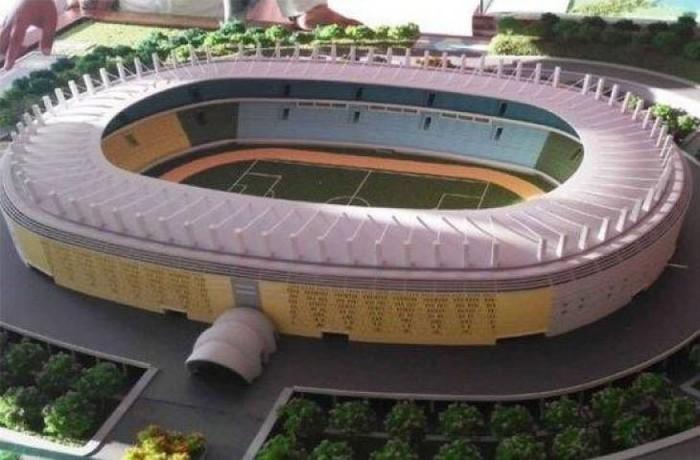 Maket Stadion BMW (Foto: dok. WIKA)