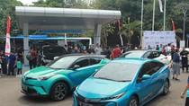 100 Mobil Listrik Disiapkan untuk Ngantor Pejabat Kemenhub