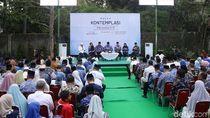Melihat Suasana di Puri Cikeas Jelang Pidato Politik SBY