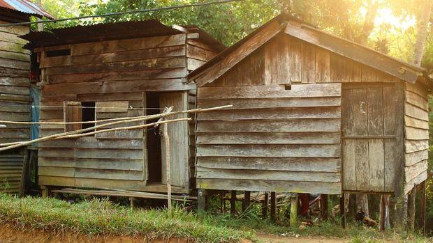 Rumah Singgah di Desa Benua Kencana