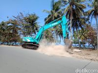 Pantai Pangandaran Bersolek Sambut Tahun 2020