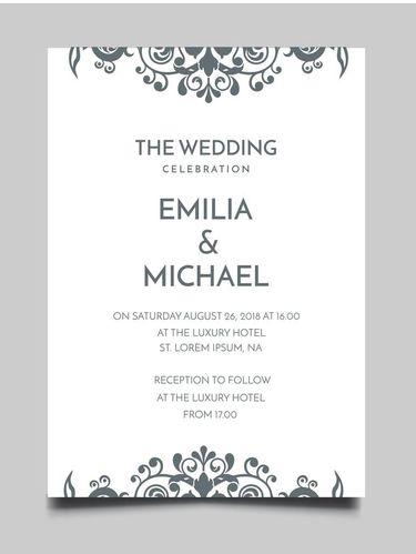 8 Contoh Undangan Pernikahan Simple Tapi Terkesan Mahal