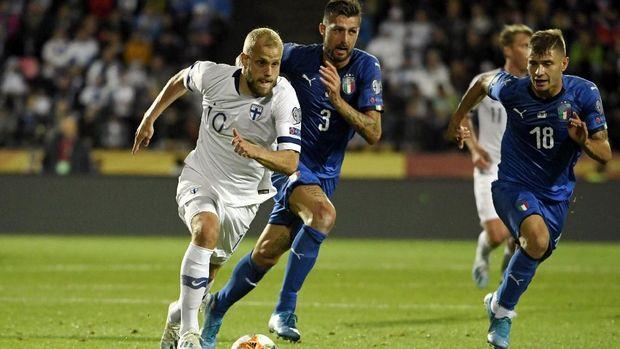 Italia berhasil meraih kemenangan di markas Finlandia.