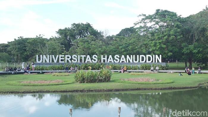Kampus Universitas Hasanuddin (Unhas) Makassar.