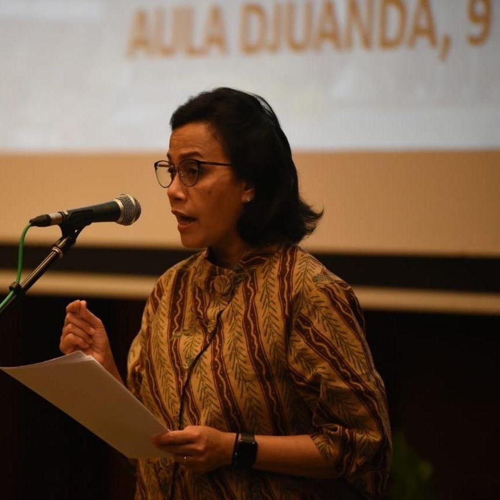Manggung di Depan Jokowi, Sri Mulyani: Maaf Jika Kami Suka Ndablek