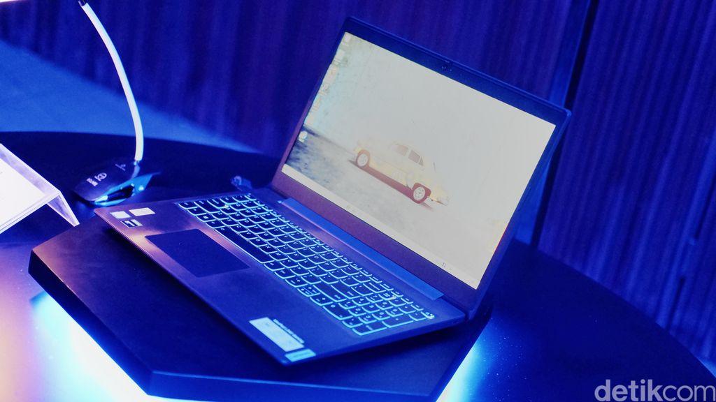 Ini adalah Lenovo IdeaPad L340. Foto: Adi Fida Rahman/detikINET