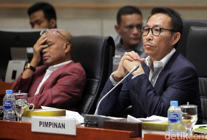 Ketua Komisi III Herman Hery (Lamhot Aritonang/detikcom)