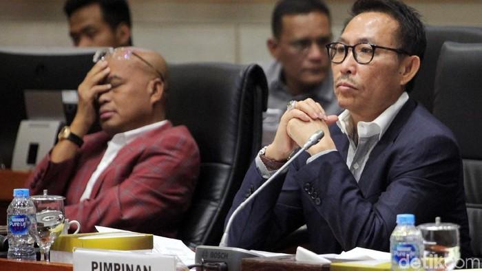 Komisi III DPR RI menggelar rapat dengar pendapat umum (RDPU) dengan Panitia Seleksi Calon Pimpinan (Pansel Capim) KPK di Kompleks Parlemen, Senayan, Jakarta, Senin (9/9/2019). Agenda rapat membahas hasil seleksi capim KPK periode 2019-2023.