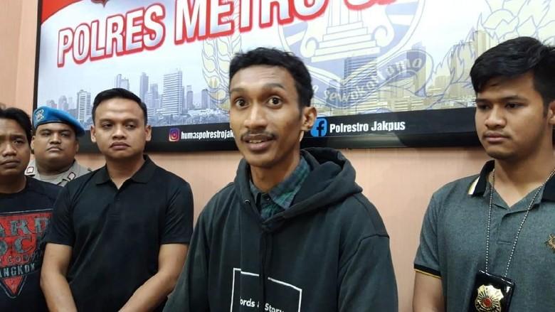 Pemotor Galak yang Serang Pejalan Kaki di Trotoar Jakpus Ditangkap!