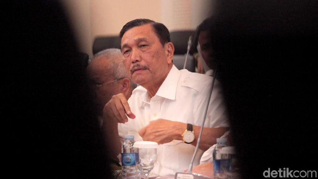 Ke DPR, Luhut Cs Rapat Bahas Penyatuan UU