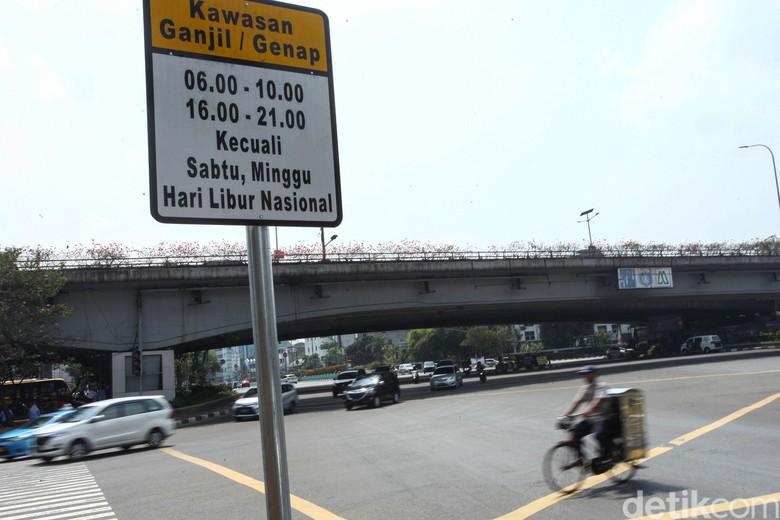Perluasan Ganjil Genap di Jakarta. Foto: Rifkianto Nugroho