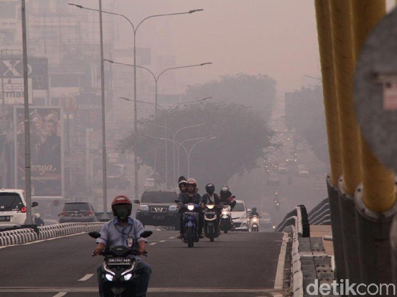 Disdik Riau Keluarkan Instruksi Sekolah Diliburkan Bila Asap
