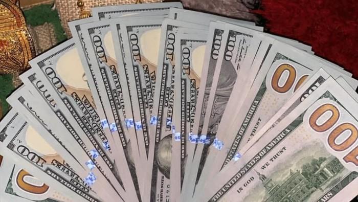 viral saweran dolar