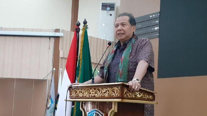 Founder and Chairman CT Corp, Chairul Tanjung/Foto: Muhammad Nur Abdurrahman/detikcom