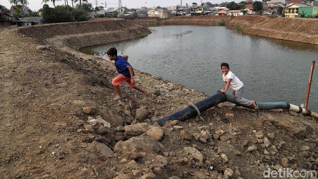 DKI Anggarkan Rp 781 M untuk Pembebasan Lahan Program Antibanjir