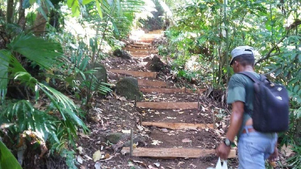 Kini Pulau Manado Tua di Bunaken Dilengkapi Jalur Pendakian