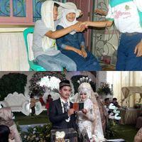 Dok. Foto Pernikahan Agus dan Istri
