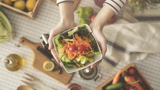 Makanan organik.