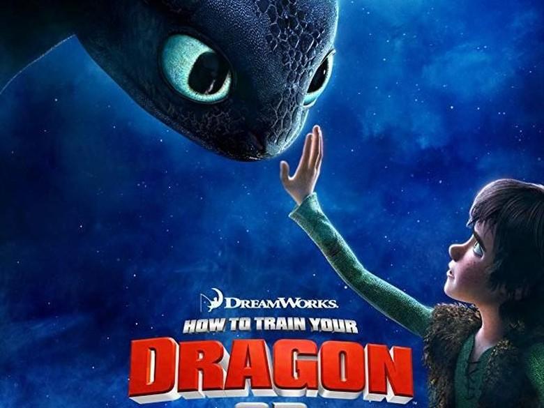 7 Fakta How to Train Your Dragon, Film Animasi yang Lahirkan Toothless Foto: IMDb