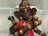 Demi Toleransi, Seniman Muslim di India Ini Bikin Patung Ganesha dari Cokelat
