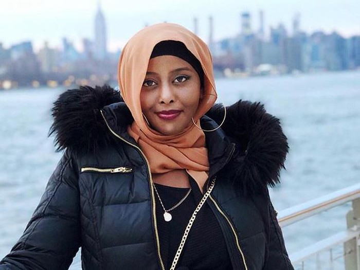 Munira Yussuf saat di Top of the Rock NYC. Foto: Instagram @munirayussuf