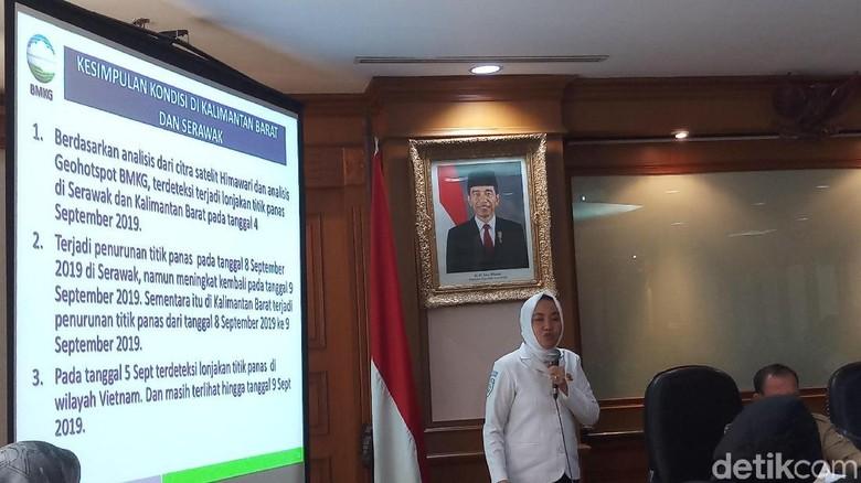 Bantah Media Malaysia, BMKG: Tak Ada Asap Karhutla Lintasi Kuala Lumpur