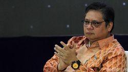 Dipanggil Jokowi, Airlangga Dapat PR Benahi Defisit Neraca Dagang