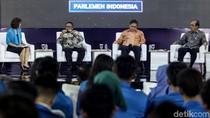 Revisi UU dan Seleksi Capim KPK Jadi Sorotan Elite Politik