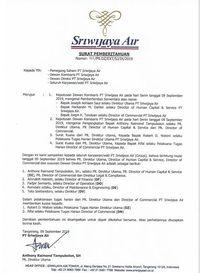Bos Sriwijaya Air Dipecat, Apa Kata Menhub?