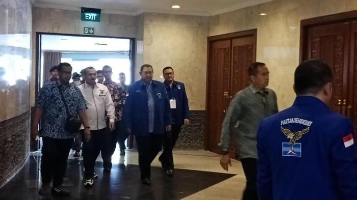 Foto: Ketum Partai Demokrat Susilo Bambang Yudhoyono (SBY). (Eva Safitri/detikcom).