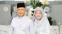 Butuh Teman Hidup Sebelum Ajal Menjemput, Kakek Ini Nikahi Wanita 67 Tahun