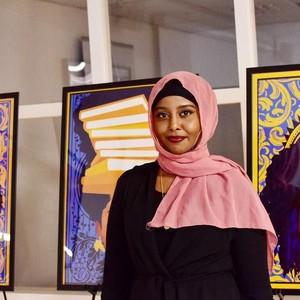 Jadi Minoritas, Hijabers Keturunan Afrika Mendobrak Lewat Karya Seni