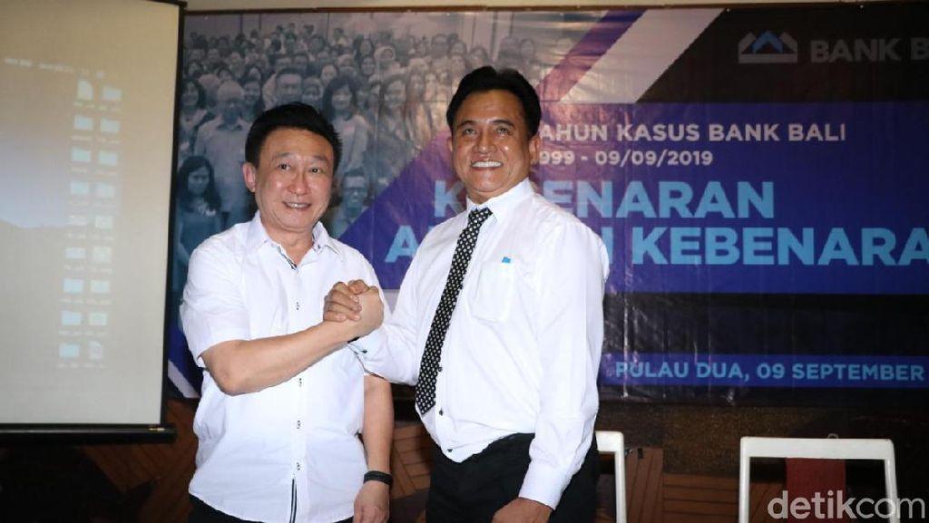 Eks Bos Bank Bali Gandeng Yusril Lawan Standard Chartered