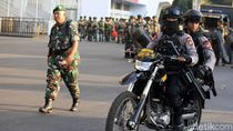 TNI-Polri Amankan SUGBK Jelang Laga Indonesia vs Thailand