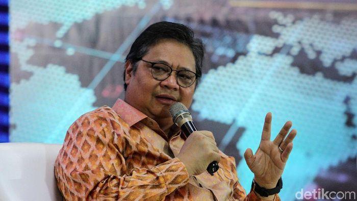 Menteri Koordinator Bidang Perekonomian Airlangga Hartarto/Foto: Rifkianto Nugroho